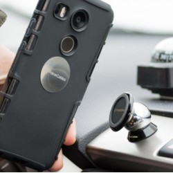 Support Voiture Aimanté Pour Alcatel Flash (2017)