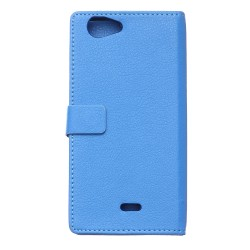 Wiko Pulp 4G Blue Wallet Case