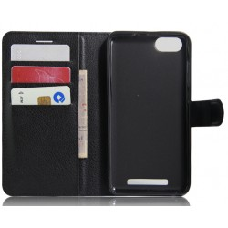 Wiko Lenny 3 Black Wallet Case
