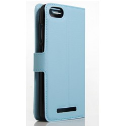 Wiko Lenny 3 Blue Wallet Case