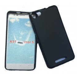 Black Silicone Protective Case Wiko Jerry