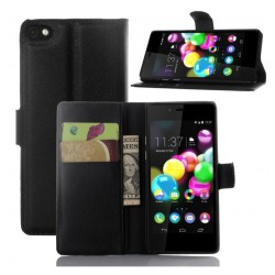 Wiko Highway Pure Black Wallet Case