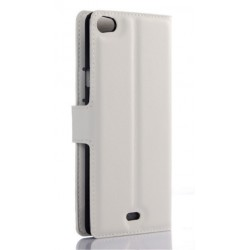 Wiko Highway Pure White Wallet Case