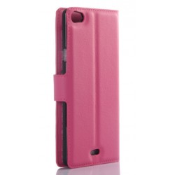 Wiko Highway Pure Pink Wallet Case