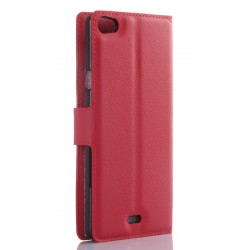 Wiko Highway Pure Red Wallet Case