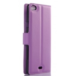 Wiko Highway Pure Purple Wallet Case
