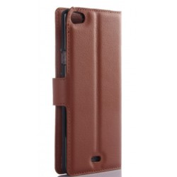Wiko Highway Pure Brown Wallet Case