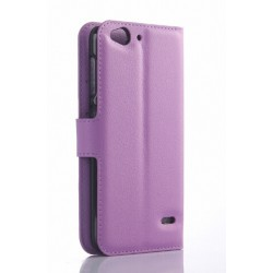 Protection Etui Portefeuille Cuir Violet SFR Star Edition Starxtrem 4