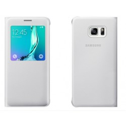White S-view Flip Case For Samsung A3 2016
