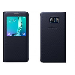 Blue S-view Flip Case For Samsung A3 2016