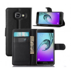 Samsung A3 2016 Black Wallet Case