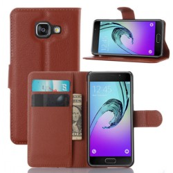 Samsung A3 2016 Brown Wallet Case