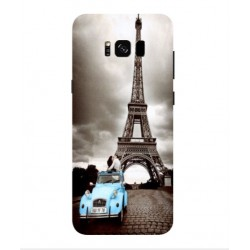 Samsung Galaxy S8 Plus Vintage Eiffel Tower Case