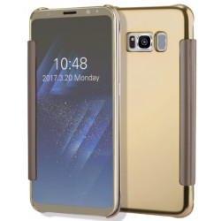 Etui Protection Led View Cover Or Pour Samsung Galaxy S8