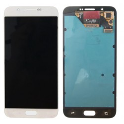 White Samsung Galaxy A8 Complete Replacement Screen