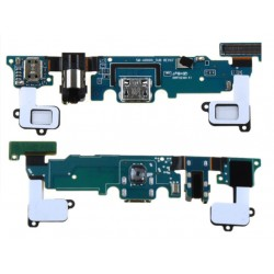 Dock Charging Audio Jack Connector And Microphone Flex Cable For Samsung Galaxy A8