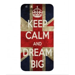 Oppo F3 Plus Keep Calm And Dream Big Cover