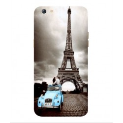 Oppo F3 Plus Vintage Eiffel Tower Case