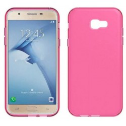 Pink Silicone Protective Case Samsung Galaxy A8 (2016)