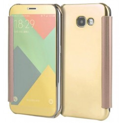Gold LED View Cover For Samsung Galaxy A8 (2016)