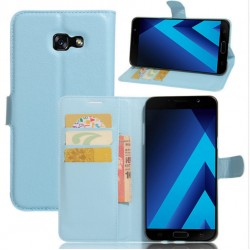 Samsung Galaxy A8 (2016) Blue Wallet Case