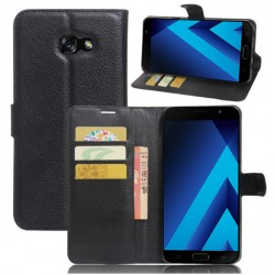 Samsung Galaxy A8 (2016) Black Wallet Case