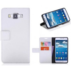 Samsung Galaxy A8 White Wallet Case