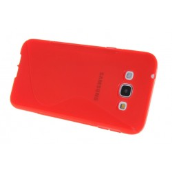 Red Silicone Protective Case Samsung Galaxy A8