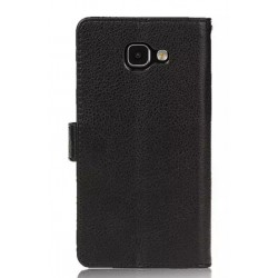 Samsung Galaxy A9 Black Wallet Case