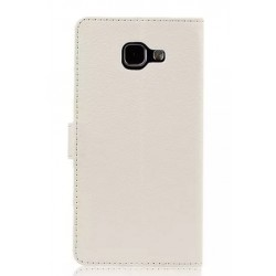 Samsung Galaxy A9 White Wallet Case