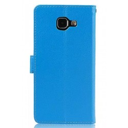Samsung Galaxy A9 Blue Wallet Case
