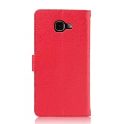 Samsung Galaxy A9 Pro (2016) Red Wallet Case