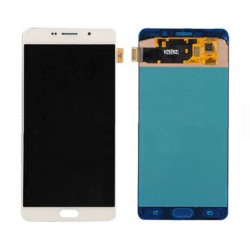 White Samsung Galaxy C7 Complete Replacement Screen
