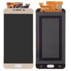 Samsung Galaxy C7 Complete Replacement Screen Gold Color