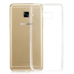 Samsung Galaxy C7 Transparent Silicone Case