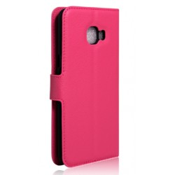 Samsung Galaxy C7 Pink Wallet Case