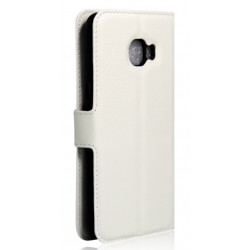 Samsung Galaxy C9 Pro White Wallet Case