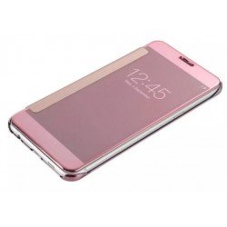 Pink LED View Cover For Samsung Galaxy C9 Pro