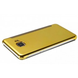Gold LED View Cover For Samsung Galaxy C9 Pro