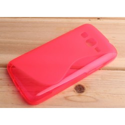 Pink Silicone Protective Case Samsung Galaxy Grand Prime VE