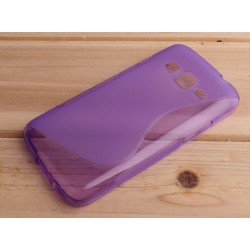 Housse De Protection En Silicone Violet Pour Samsung Galaxy Grand Prime