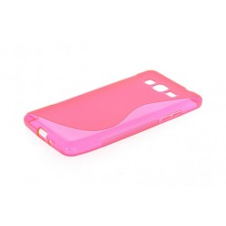 Housse De Protection En Silicone Rose Pour Samsung Galaxy Grand Prime