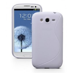 White Silicone Protective Case Samsung Galaxy Grand Neo Plus