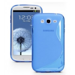Blue Silicone Protective Case Samsung Galaxy Grand Neo Plus