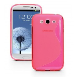 Pink Silicone Protective Case Samsung Galaxy Grand Neo Plus