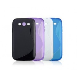 Purple Silicone Protective Case Samsung Galaxy Grand Neo Plus