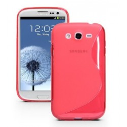 Red Silicone Protective Case Samsung Galaxy Grand Neo Plus