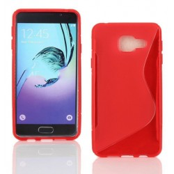 Red Silicone Protective Case Samsung Galaxy J5 Prime
