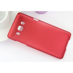 Coque De Protection Rigide Pour Samsung Galaxy J7 (2016) - Rouge