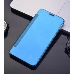 Etui Protection Led View Cover Bleu Pour Samsung Galaxy J7 (2016)